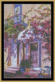Rose Shadows | Crafting | Cross-Stitch | Wall Hangings