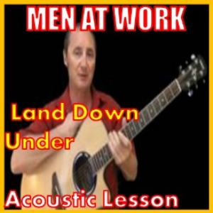 learn to play land down under by men at work