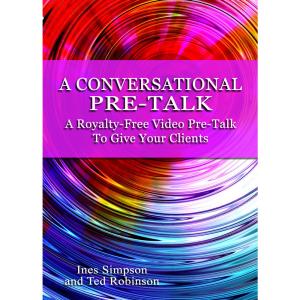 a conversational pre-talk