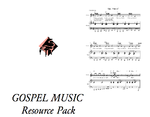 gospel music resource pack (discounted)