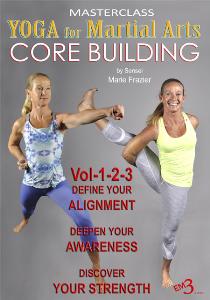 yoga for martial arts (3 dvd set)