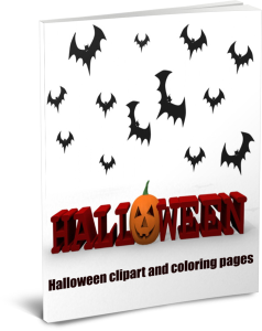 Halloween crafts, clipart, coloring pages and jokes | eBooks | Fiction