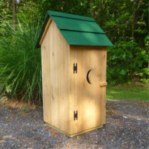 outhouse/gnome home plans
