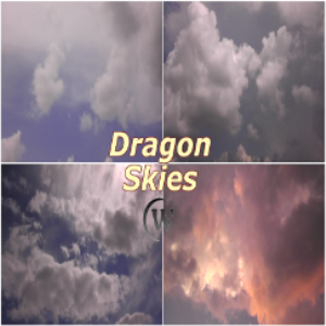 dragon skies backgrounds
