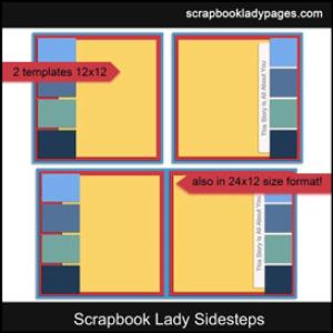 scrapbook lady sidesteps