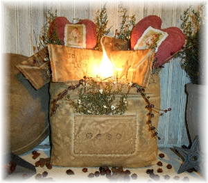 507 primitive valentine hearts and letters mail bag lamp pattern epattern