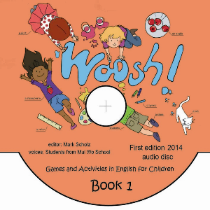 woosh! games and activities in english - audio dysk