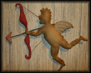 512 cupid door doll with bow and arrow pattern epattern