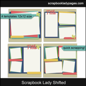 scrapbook lady shifted