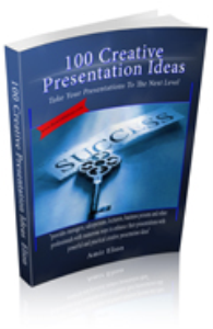 100 creative presentation ideas e-book special offer