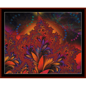 Fractal 441 cross stitch pattern by Cross Stitch Collectibles | Crafting | Cross-Stitch | Wall Hangings