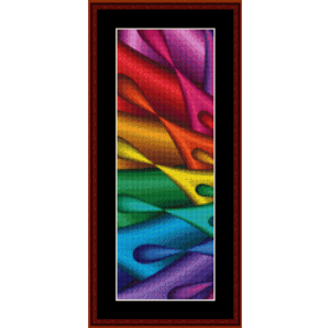 Fractal 438 Bookmark cross stitch pattern by Cross Stitch Collectibles | Crafting | Cross-Stitch | Other