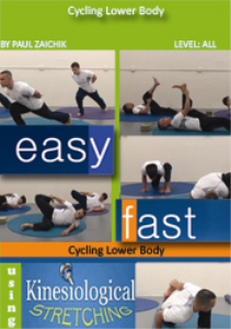cycling lower body