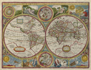 a new and accurate map of the world. 1651