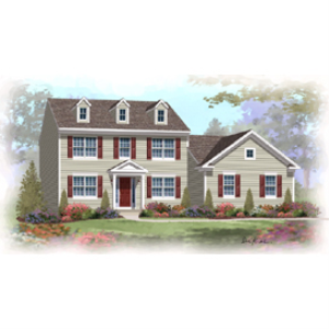 home builder's plan set - waldon traditional