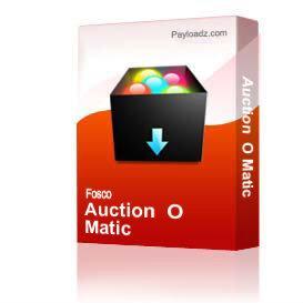 auction  o matic