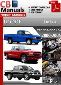 Dodge Dakota 2000-2005 Service Repair Manual | eBooks | Automotive