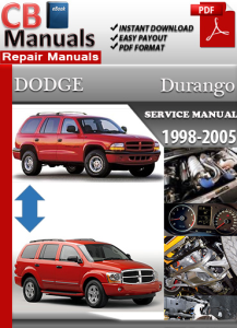 Dodge Durango 1998-2005 Service Repair Manual | eBooks | Automotive