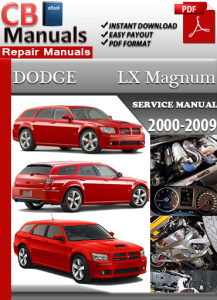Dodge LX Magnum 2000-2009 Service Repair Manual | eBooks | Automotive