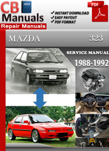 Mazda 323 1988-1992 Service Repair Manual | eBooks | Automotive