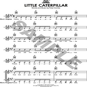 peter combe - little caterpillar