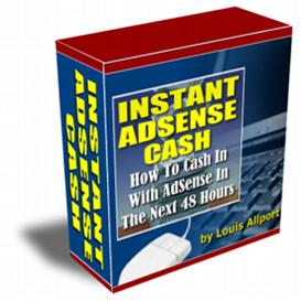 INSTANT Adsense Cash! | eBooks | Business and Money