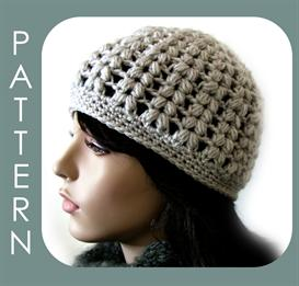 The Vivian Cap (optional visor instructions included) | eBooks | Arts and Crafts