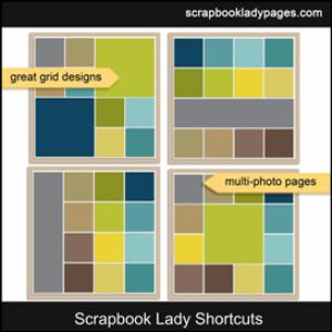 scrapbook lady shortcuts