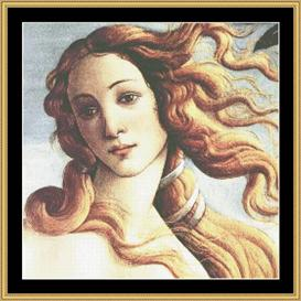 Birth Of Venus  Detail - Botticelli | Crafting | Cross-Stitch | Other