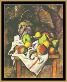 Ginger Jar With Fruit - Cezanne | Crafting | Cross-Stitch | Wall Hangings