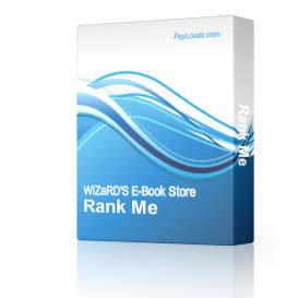 Rank Me | Software | Design