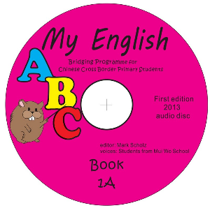 my english abc, bridging course for chinese cross border students, audio disk for book 1a