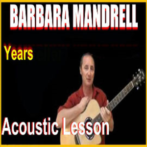 learn to play years by barbara mandrell
