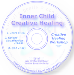 inner child creative healing guided visualization meditation