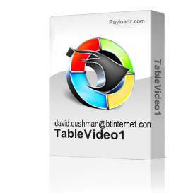 TableVideo1 | Movies and Videos | Special Interest