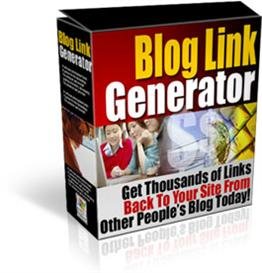 blog link generator - resell right