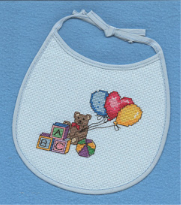 First Additional product image for - Alphabet Bear Bib