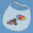 Alphabet Bear Bib | Crafting | Cross-Stitch | Other