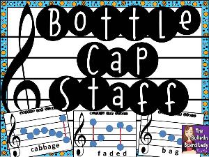bottle cap staff