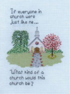 If Everyone...Picture | Crafting | Cross-Stitch | Religious