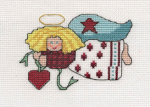 Country Angel Picture | Crafting | Cross-Stitch | Other
