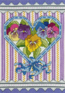 victorian pansies picture