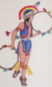 Hoop Dancer Picture | Crafting | Cross-Stitch | Other