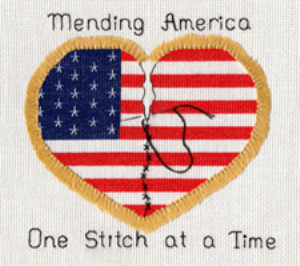 Mending America Picture | Crafting | Cross-Stitch | Other