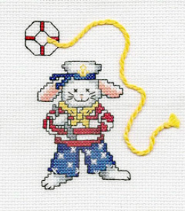 Sailor Bunny Picture | Crafting | Cross-Stitch | Other