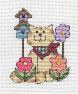 Bandana Kitty Picture | Crafting | Cross-Stitch | Other
