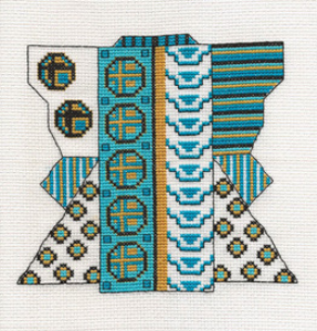 Turquoise Kimono Picture | Crafting | Cross-Stitch | Other
