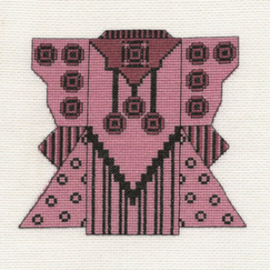 Rose & Black Kimono Picture | Crafting | Cross-Stitch | Other