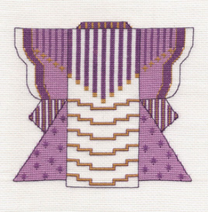 Violet Kimono Picture | Crafting | Cross-Stitch | Other