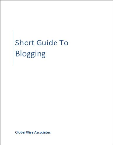 short guide to blogging